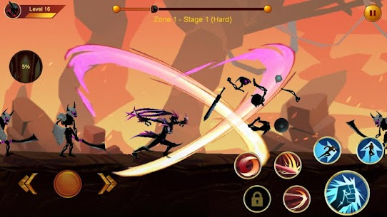 Shadow fighter 2: Shadow & ninja fighting games mod apk download for android 4