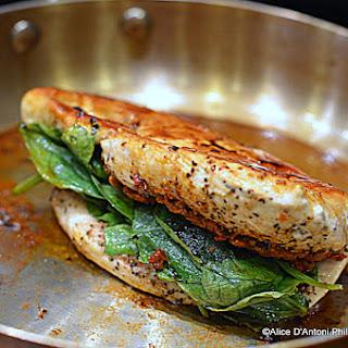 Tomato Pesto Spinach Stuffed Grilled Chicken Recipe