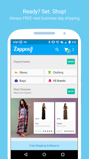 Zappos: Shoes, Clothes, & More