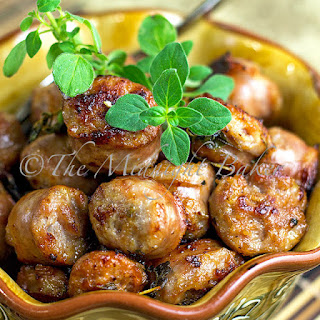 Italian Sausage Bites.