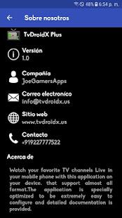 TvDroidX+ for PC / Windows 7, 8, 10 / MAC Free Download