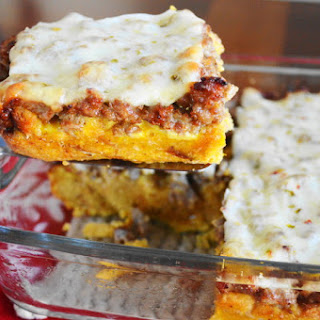 Sweet Potato Biscuit Breakfast Casserole