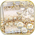 Silver Gold Theme Wallpaper luxury gold apk