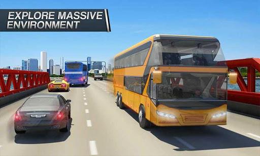 Coach Bus Simulator - City Bus Driving School Test 1.7 screenshots 1