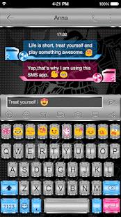 Emoji Keyboard - Auto Robot - náhled