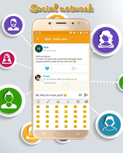 PANO Chat - Random chat with stranger & Video call 4.0 screenshots 14