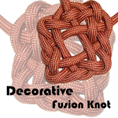 macrame knots tying nylon cord