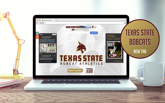 Texas State University New Tab