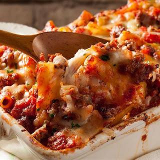Baked Spaghetti With Mozzarella Cheese Recipes