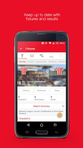 Fan App for Lincoln City