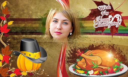 Thanksgiving frame Cum Greting