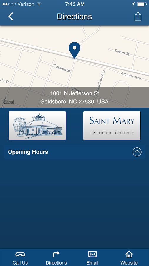 St. Mary Catholic - Goldsboro- screenshot