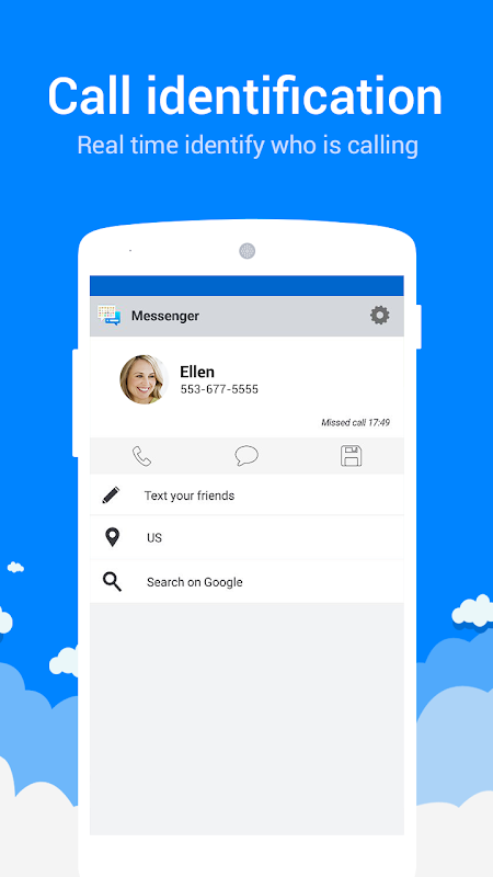 Messenger for SMS screenshots