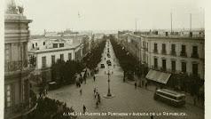 Puerta de Purchena y la Avenida de la República en Almería.