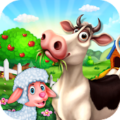 Cattle Farm Tycoon - Kids Farm Games