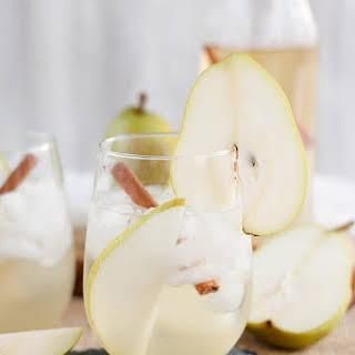 Pear Prosecco Cocktail.
