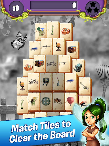 Mahjong Garden Four Seasons - Free Tile Game screenshots 1