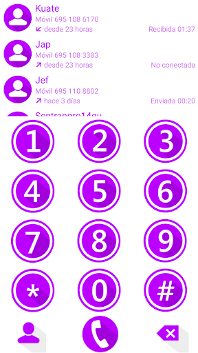 THEME MATERIAL M PURP EXDIALER