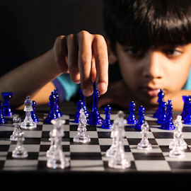 Chess Naster by Fawad Hashmi - Babies & Children Children Candids ( chess, children, games, pakistan, cute, master, child,  )