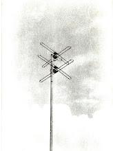 Photo: 137 Mhz satellite antenna home brew @ WB9OTX
