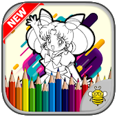 Tải Coloring Page Sailor Characters APK