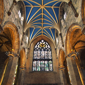 St Giles' Cathedral  by Ivan Ivanov - Buildings & Architecture Places of Worship ( edinburgh, hdr, historic district, cathedral, worship )