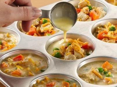 Mini Pot Pies Recipe