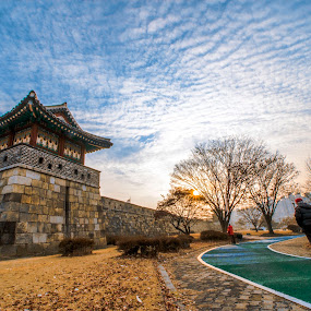 suwon city cultural by Charles Saswinanto - City,  Street & Park  Historic Districts