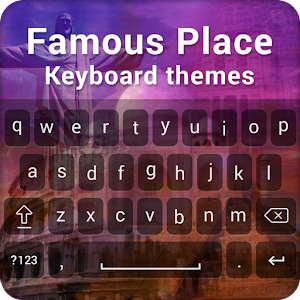 download Famous Place Keyboard Theme apk