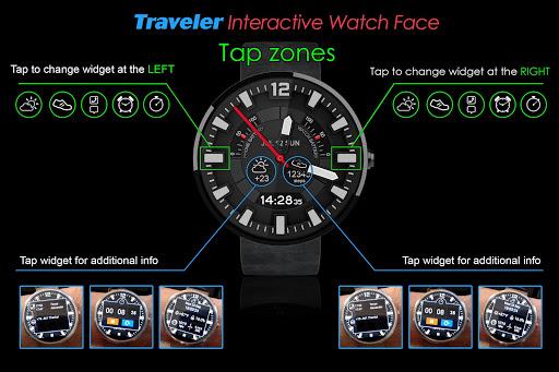 Traveler Watch Face