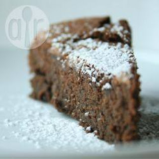 Gluten Free Chickpea Chocolate Cake.