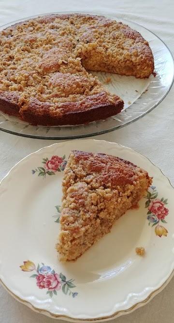 Cherry Lime Coffee Cake Crumble Recipe