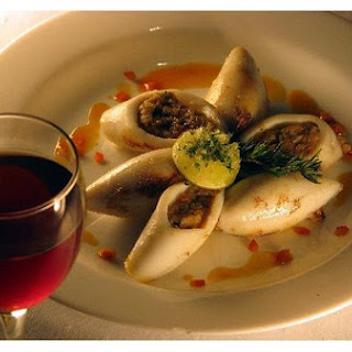 Italian Stuffed Squid