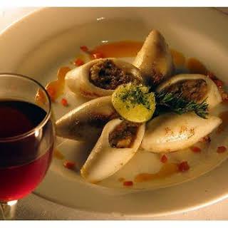 Italian Stuffed Squid.