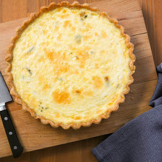 Easy Mixed-Cheese Quiche.