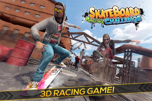 Skateboard Racing Challenge - Street Party Stunts 2.11.4 screenshots 1