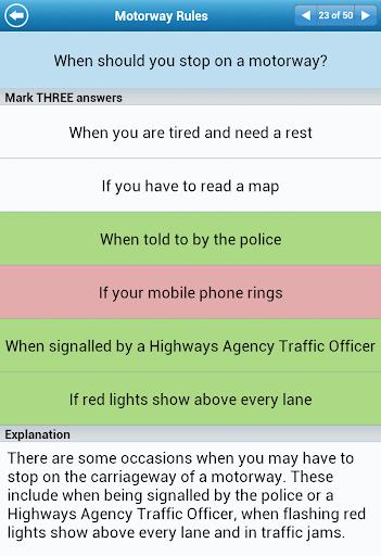 UK Driving Theory Test Lite screenshot 23