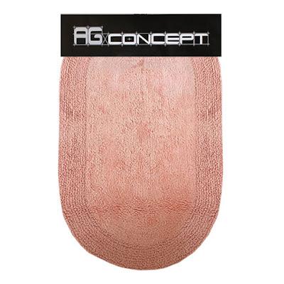 Коврик AG concept Salmon овал 50х60 см