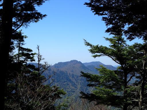 大谷嶺と山伏