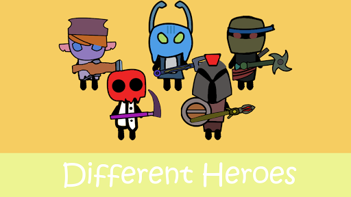 Shooter Heroes : Best 2D Top Down Shooting Games  screenshots 1