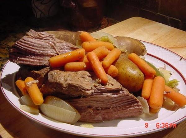 Bonnie's Boiled Dinner Recipe