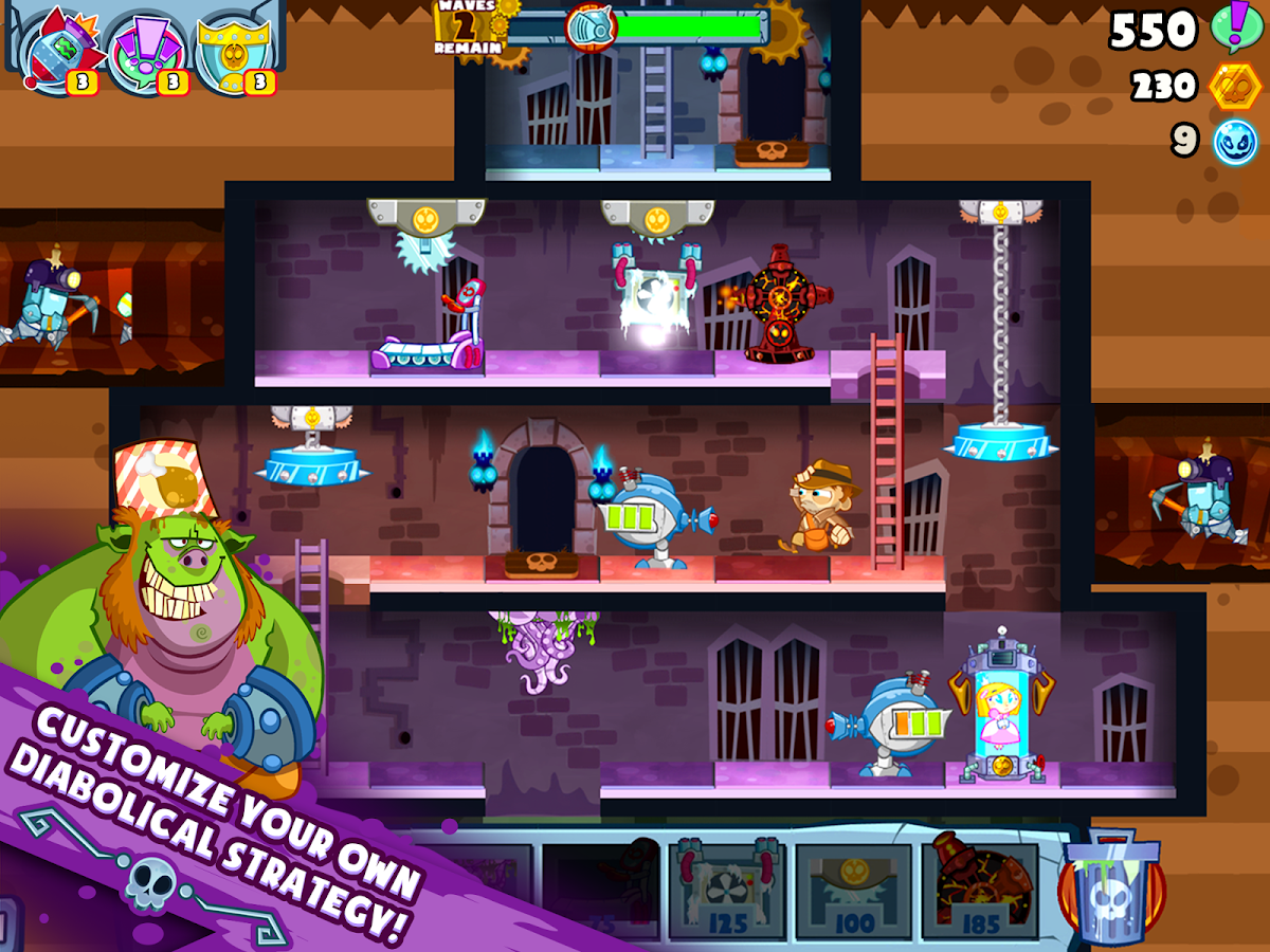 Castle Doombad – screenshot