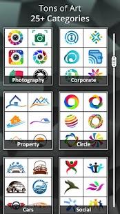 Logo Maker - Logo Creator, Generator & Designer Screenshot