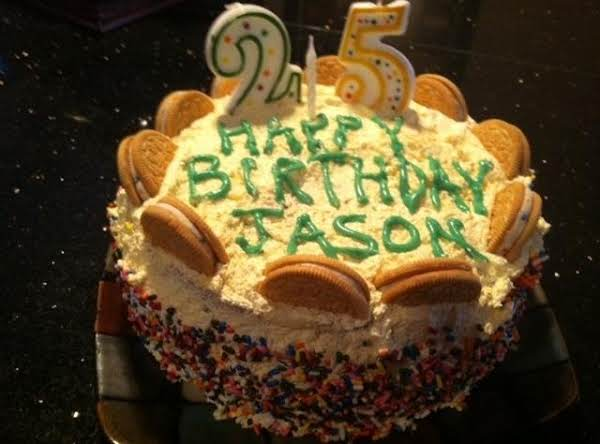 A Vanilla Cake For The Gift That Was Given To Me 25 Years Ago...my Son :)
