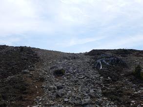 コブシ嶺の山頂へ