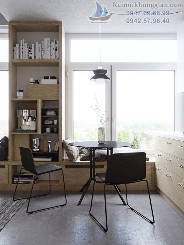 thiết kế phòng khách ý tưởng sáng tạo