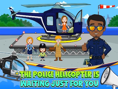 My Town : Police Station Pretend games for Kids 9