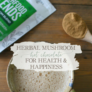 Herbal Mushroom Hot Chocolate.