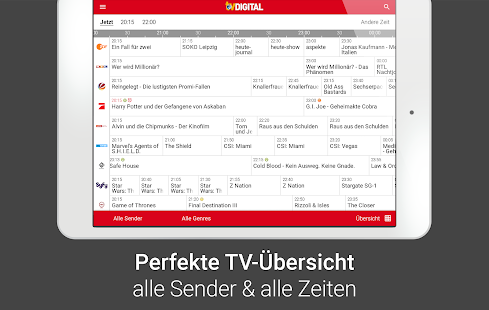 TV DIGITAL TV-Programm mit Sky- screenshot thumbnail