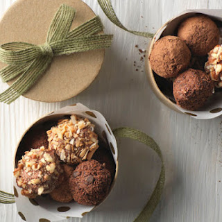 Chocolate-Strawberry Truffles Recipe